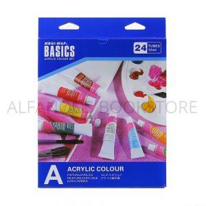 ألوان أكريلك 24 لون – BASICS