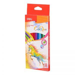 ألوان خشبية 12 لون – Deli