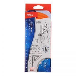 علبة أدوات هندسية -Deli