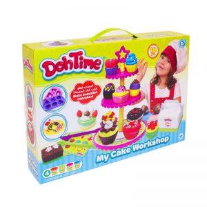 لعبة صلصال إصنعي قطع الكب كيك الجميلة – Doh Time