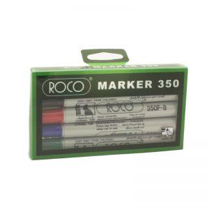 طقم أقلام سبورة 4 لون – ROCO