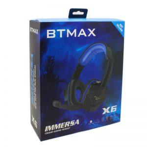 هيدفون BTMAX X6