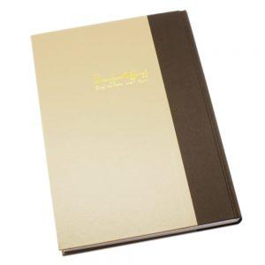 دفتر اليومية 3 خانات 200 ورقة